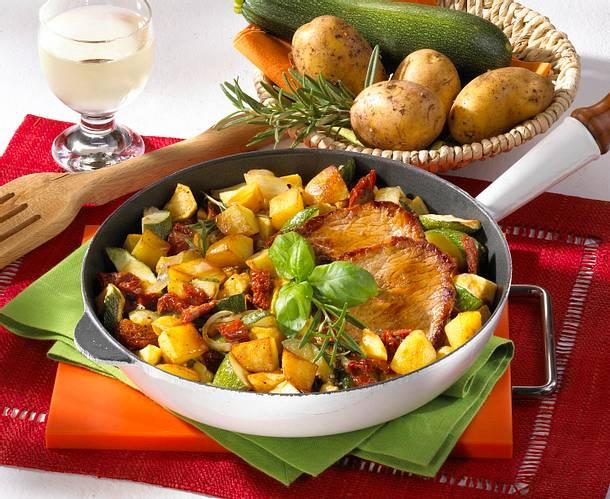 Italienische Kartoffelpfanne Rezept