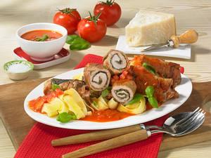 Italienische Pesto-Rouladen Rezept