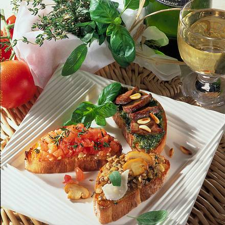 Italienische Röstbrote Rezept