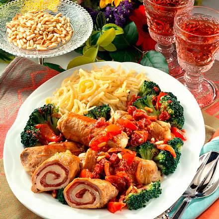 Italienische Schnitzel-Rouladen Rezept