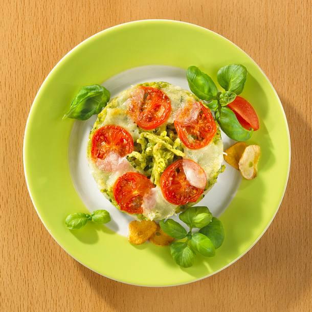 Italienische Spinat-Spätzle Rezept