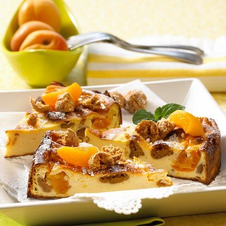 Italienischer Aprikosen-Käsekuchen Rezept