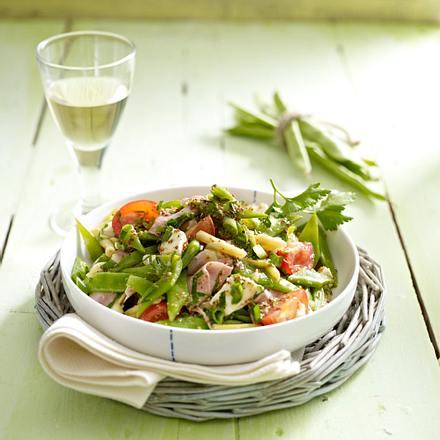 Italienischer Bohnensalat Rezept