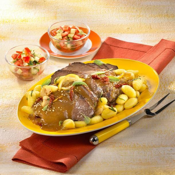 Italienischer Chianti-Schmorbraten Rezept