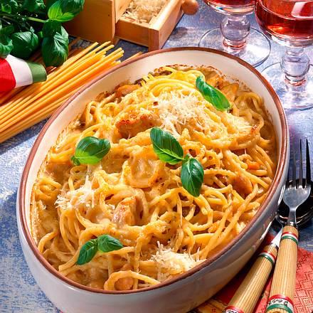 Italienischer Maccheroni-Auflauf -Tagliarini Rezept