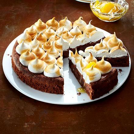 Italienischer Schokoladen Mousse Kuchen Torta Famosa Rezept Lecker