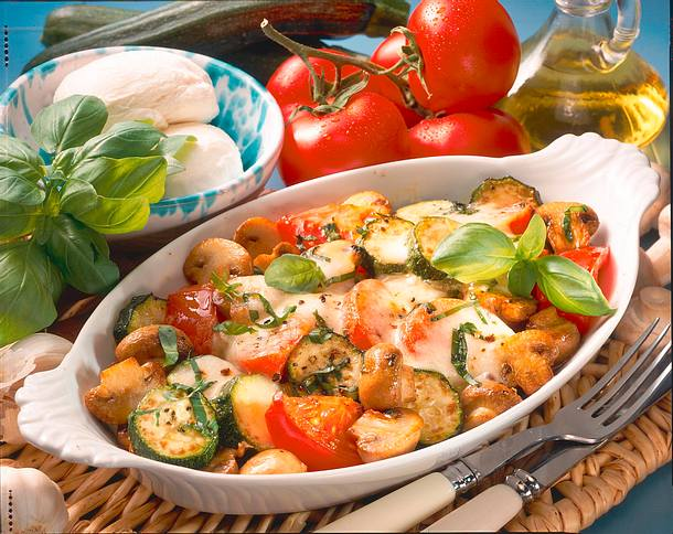 Italienisches Gemüse-Gratin  Rezept