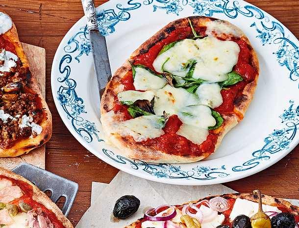 Italienisches Pizza-Naan-Brot Rezept