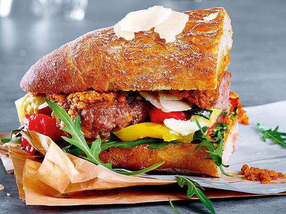 Italienisches Salsicce-Sandwich Rezept