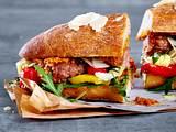 Italienisches Salsiccia-Sandwich Rezept