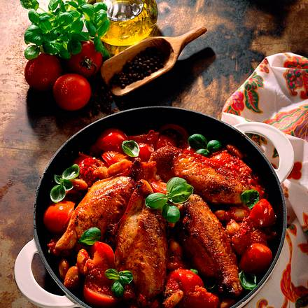 Italienisches Tomatenhuhn Rezept
