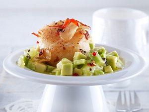Jakobsmuscheln zu Avocado-Kiwi-Salsa Rezept