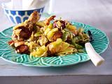 Jambalaya mit Hähnchen und Garnelen Rezept