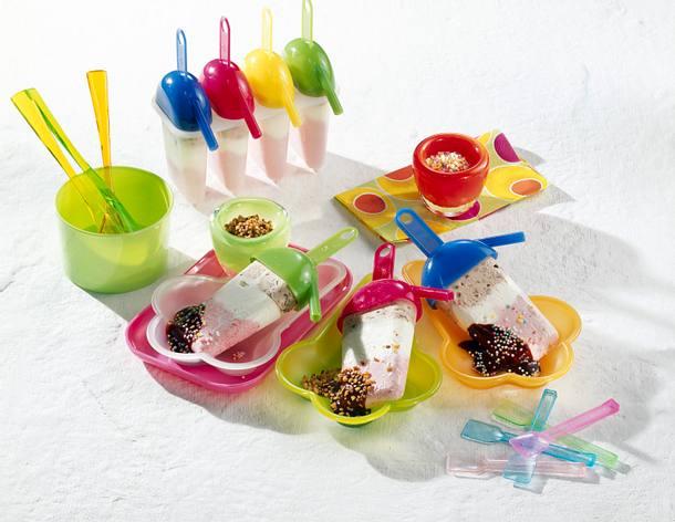 Joghurt-Eis am Stiel Rezept