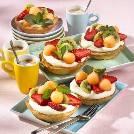 Joghurt-Frucht-Törtchen (Diabetiker) Rezept
