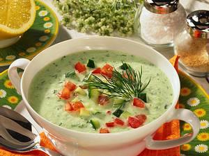 Joghurt-Gurken-Kaltschale Rezept