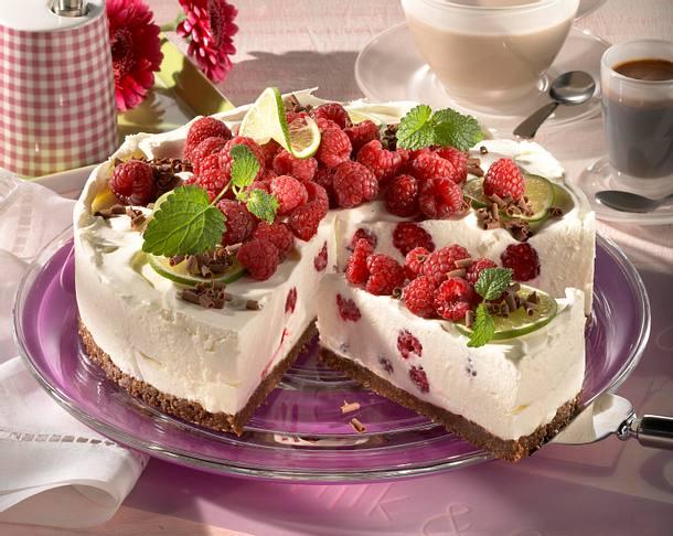 Joghurt-Himbeer-Torte Rezept