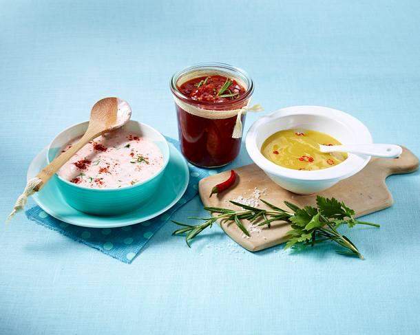 Joghurt-Knoblauch-Soße Rezept