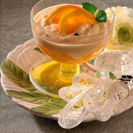 Joghurt-Mandarinen-Creme mit Orangen Rezept