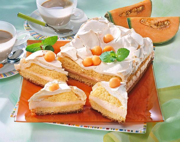 Joghurt-Melonen-Torte Rezept