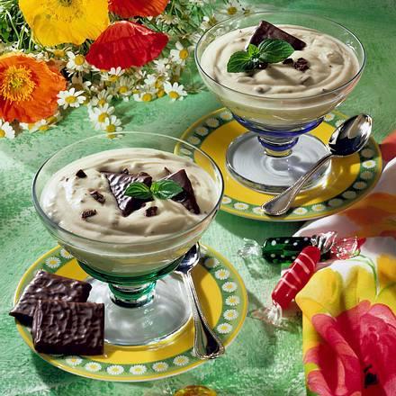Joghurt-Minz-Creme Rezept