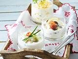 Joghurt mit Ingwer, Koriander und Orangenschale Rezept