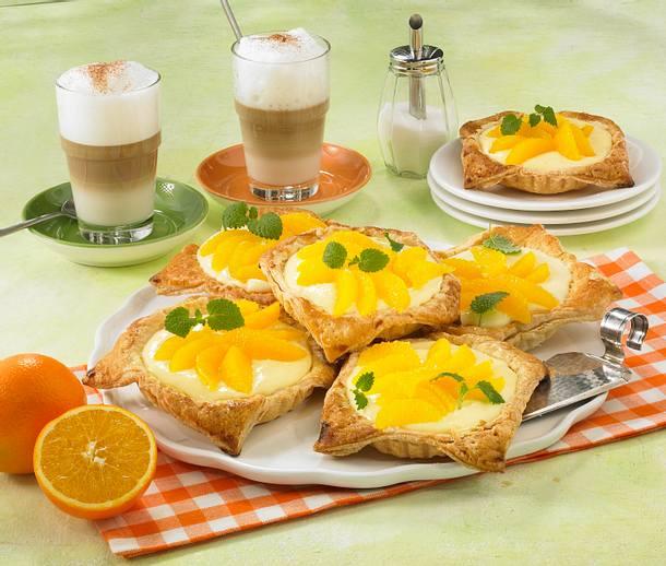 Joghurt-Orangen-Torteletts Rezept