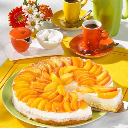 Joghurt-Pfirsich-Torte Rezept