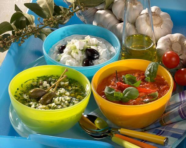 Joghurt-Schafskäse-Dip Rezept