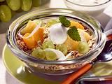 Joghurt-Trauben-Müsli Rezept