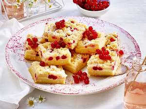 Johannisbeer-Cheesecake-Blondies Rezept