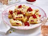 Johannisbeer-Cheesecake-Blondies Rezept