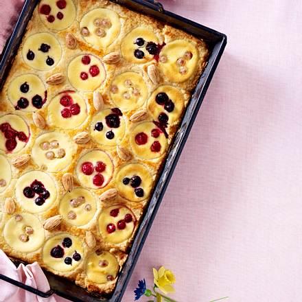 Johannisbeer-Frischkäse-Kuchen Rezept