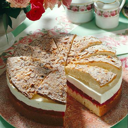 Johannisbeer-Joghurt-Torte Rezept