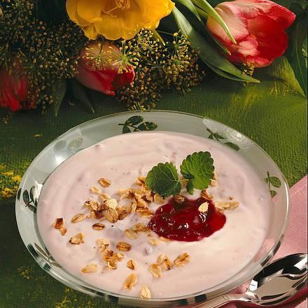 Johannisbeer-Quark-Creme Rezept