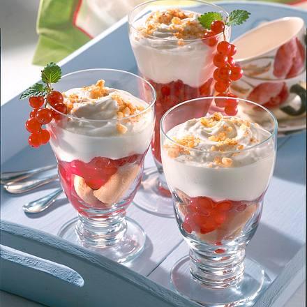 Johannisbeer-Trifle Rezept