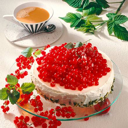 Johannisbeer-Zitronen-Joghurt-Torte Rezept