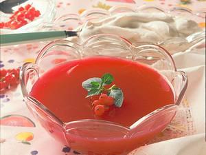 Johannisbeergelee und Eierlikörsahne Rezept