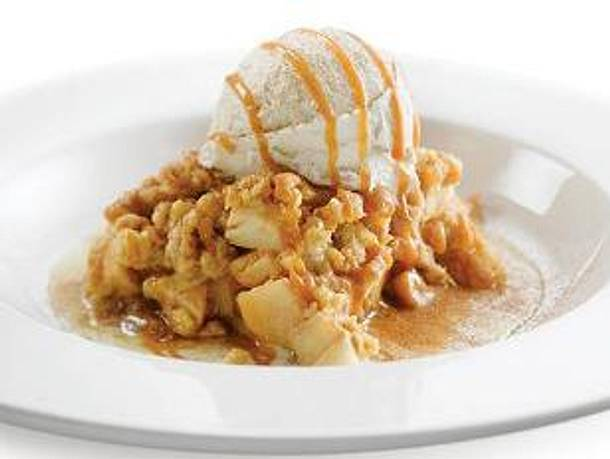 Julias Apple Crumble Rezept