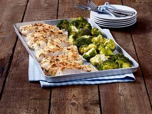 Kabeljau mit Parmesankruste und Brokkoli Rezept