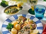 Kabeljaufilets mit Zitronen-Kräuter-Marinade Rezept