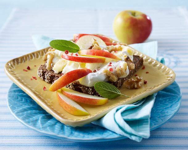 Käse-Apfel-Brot Rezept