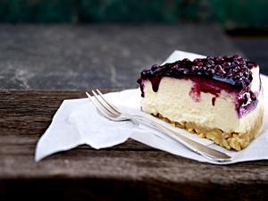 Käse-Heidelbeer-Kuchen Rezept