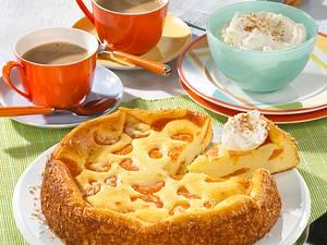 Käse-Kokos-Mandarinen-Kuchen Rezept