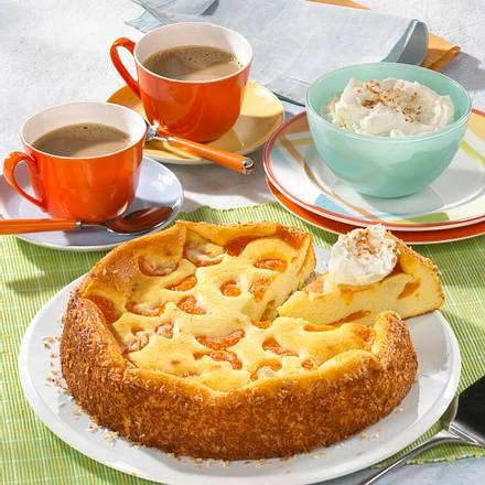 Kase Kokos Mandarinen Kuchen Rezept Lecker