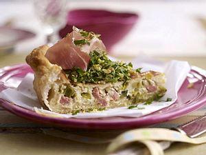 Käse-Lauch-Quiche Rezept