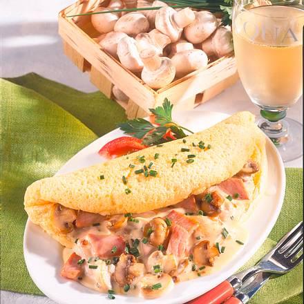 Käse-Omelett mit Pilzen (Diabetiker) Rezept