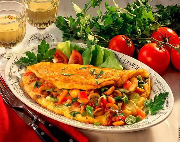 Käse-Omelette Rezept