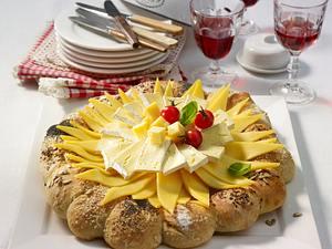 Käse-Party-Sonne Rezept