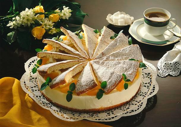 Käse-Sahne-Torte (Diabetiker) Rezept